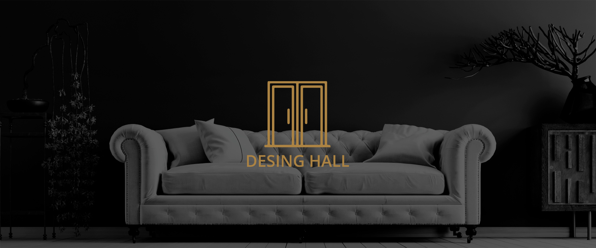 desing hall+icono